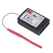 FlySky FS-R9B Alto precision 2.4Ghz 8CH Receptor para Flysky TH9X TransmisorW5Y1