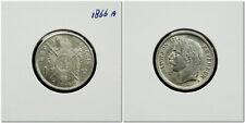 France - 1 Franc 1866 A ~ Napoleon III ~ high grade