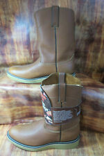 Durango Leather Western Boot  Brown Size 10.5  Model# FR712 #1438