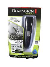 Remington Lithium Power Series PG525 Face & Body Groomimg Kit Black 10 Pc