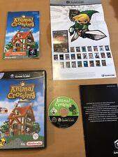 Animal Crossing Nintendo Gamecube (PAL) *Rare* Free Shipping