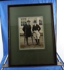 RARE Signed Edward VIII Photo w/ WW1 Veteran One of a Kind Signature & Photo