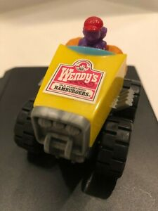 Wendy's Restaurant Yellow 1997 Fry Package Toy Racer; Preowned