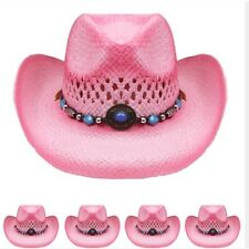 WOMEN COWBOY HAT Western PINK Cap Cowgirl Cap MEN WOMEN HIGH QUALTY