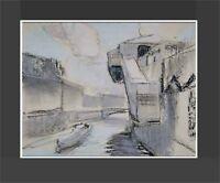 Moderne Kunst, deutscher Maler Bernd Krüerke *1944,Hallesches Tor Berlin 2004 xx