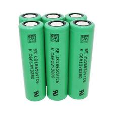 6X 18650 VTC6 3000mAh Battery High Drain 3.7V Rechargeable Li-ion Flat Top -Smok