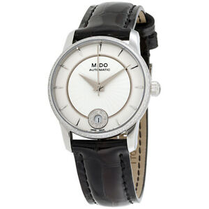 Mido Automatic Movement White Dial Ladies Watch M0072076603620
