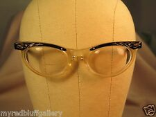 0971960254 Vintage American Optical Eyeglass Frames Cat Eye   Small 46 20 - 5 1 4