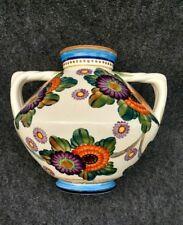 Grand Vase à anses Aluminia Faience royal of copenhagen denmark1907 art nouveau