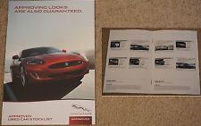 2015 Carrs JAGUAR rivenditore autorizzato AUTO USATE stocklist BROCHURE X Type XF XJ XK + +