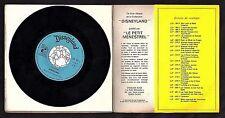 Walt Disney Pinocchio Rare 45rpm Record & Storybook 1968 French Disque Livre