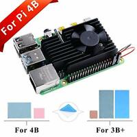 Raspberry Pi 4 Extreme Cooling Fan Kit, Aluminum Heatsink with Cooling