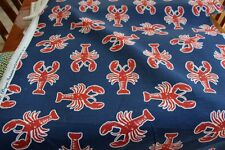Lobster Pot Print Outdoor fabric BTY