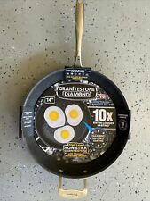 New listing 14�Nonstick Frying Pan with Ultra Durable Mineral &Diamond Triple Coated Surface