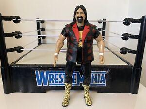 WWE Mick Foley Wrestling Figure Jakks TNA Deluxe Impact Mankind Cactus Jack WWF