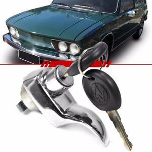 VW Ghia Engine decklid lock rear engine hood keys Variant T3 T4 Chrome Brasilia