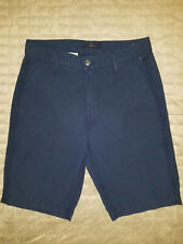 new 7 FOR ALL MANKIND men shorts blue 29 MSRP$185