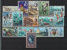 Turks & Caicos Islands - 1971 Decimal Currency Used Set
