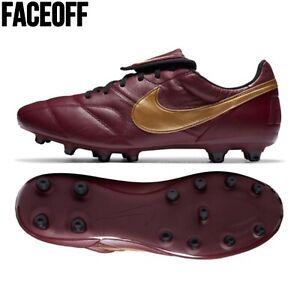 Nike Premier II FG Dark Beetroot Kangaroo Lthr Football Boots UK 9 / EU 44