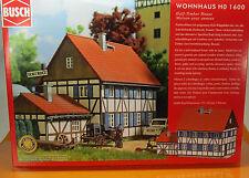 Busch 1600 Bausatz Wohnhaus mit Anbau H0 Scale 1 87 NEU OVP