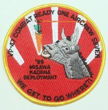 USN Navy patch:  Patrol Squadron 47 (VP-47) 1999