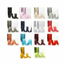 Ribbon Elastic 10mm - 25mm wide - 14 Colours - Multibuy Savings & Free Postage