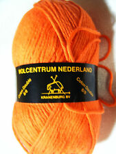 Wolcentrum Nederland Orange Worsted Weight Double Cotton Yarn