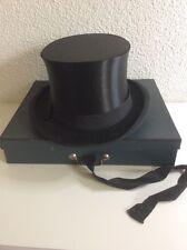 Alter Chapeau Claque / Zylinder Hutfabrik Hermann