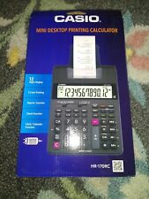 Casio Hr-170Rc Printing Calculator - 12 Digits