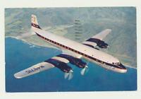 Original AK / Douglas DC 7 im Flug