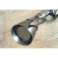 Brushed Nickel 2.25-inch Adjustable Shower Head Grey