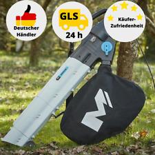 MacAllister 3 in 1 Gerät Staubsauger/Bläser/Mulcher Gartenbläser 2800W 234 km/h