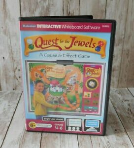 Lakeshore iLakeshore Interactive Whiteboard Software Quest Jewels Cause Effect