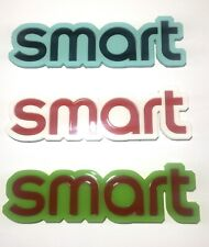 CUSTOM SMART CAR REAR BADGE LOGO LETTERS - ANY COLOUR/SIZE - 3mm ACRYLIC 3M BACK
