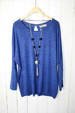 ZIZZI  Leichte Damen Pullover  Gr S   Daphne Blue  Neu