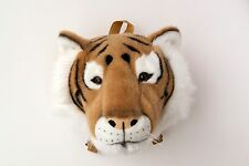 Tiger Children Wall Hanging Trophy Animal Head T Kids Toy