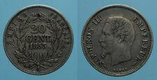 FRANCIA 20 CENTIMES 1853 A NAPOLEONE III BB
