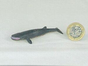 Blue Whale Fish Toy Animal Cute Wildlife Zoo Figure Make Believe Mini b