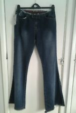 New with tags.Ladies Go Vicinity Frayed bootcut jeans. Size 12. Long