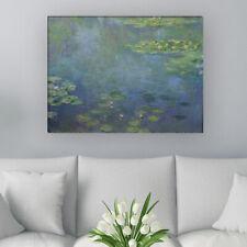 """WANDKINGS Leinwandbild Claude Monet - """"Seerosenteich"""""""