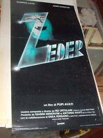 Zeder Plakat Original 1983 Pupi Avati Gabriele Lavia