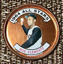 1964 Topps Coin Roberto Clemente #150 Pirates (condition is considered good)