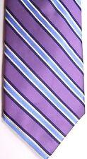 """English Laundry Men's Silk Tie 59.5"""" X 3"""" Multi-Color American Stripes"""