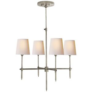 Visual Comfort Bryant Small Chandelier in Polish Nickel TOB5003PN