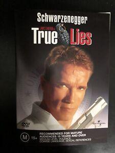True Lies DVD 2003 Arnold Schwarzenegger & Jamie Lee Curtis Region 2/4