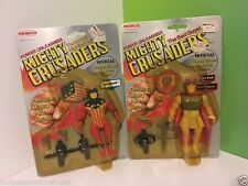 REMCO 1984 VINTAGE MIGHTY CRUSADERS LOT SHIELD BRAIN EMPEROR MOC ARCHIE COMICS
