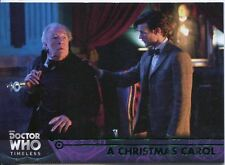 Doctor Who Timeless Green Parallel Base Card #76 A Christmas Carol