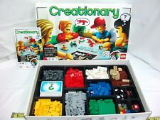 LEGO 3844 Creationary Board Game Building Game Complete Retired