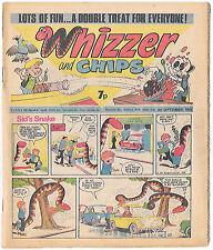 Whizzer and Chips 4 Sept 1976 (high grade) Sid's Snake, Odd-Ball, Joker, Loser