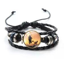 Baby Yoda Mandalorian Wood Bead Bracelet